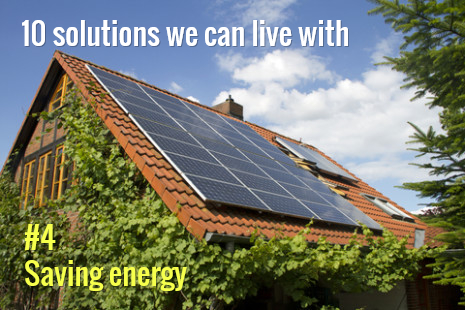 Using less energy and switching to green power go hand in hand