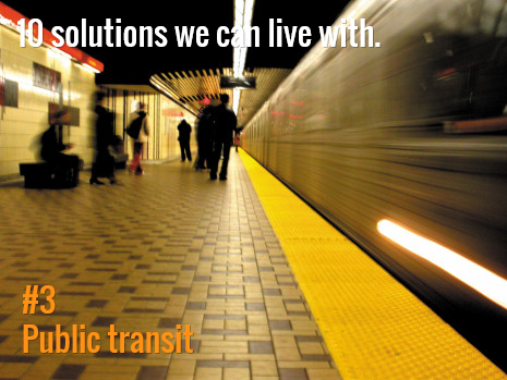 Transit is the backbone of a city